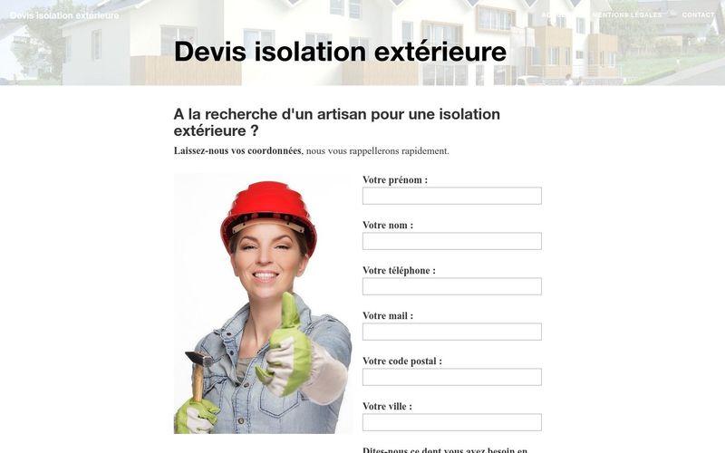 Comment obtenir un devis d'isolation extérieure ?